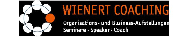 WIENERT COACHING Organisations- und Business-Aufstellungen Seminare  · Speaker · Coach